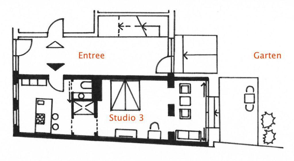 Grundriss Studio 3