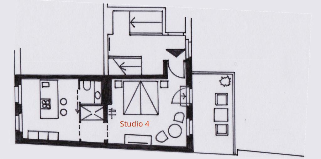 Grundriss Studio 4
